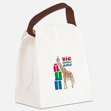 Big Birthday Wishes! Canvas Lunch Bag