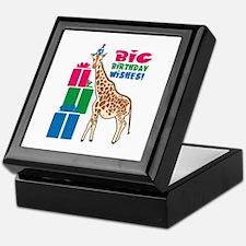 Big Birthday Wishes! Keepsake Box