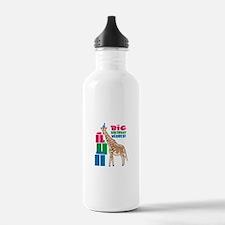 Big Birthday Wishes! Water Bottle