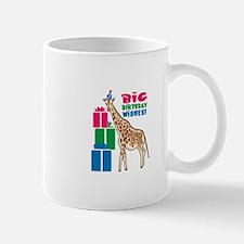 Big Birthday Wishes! Mugs
