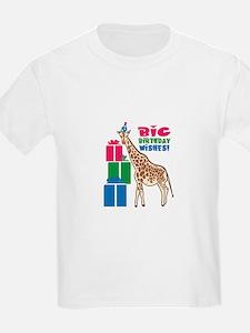 Big Birthday Wishes! T-Shirt