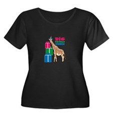 Big Birthday Wishes! Plus Size T-Shirt