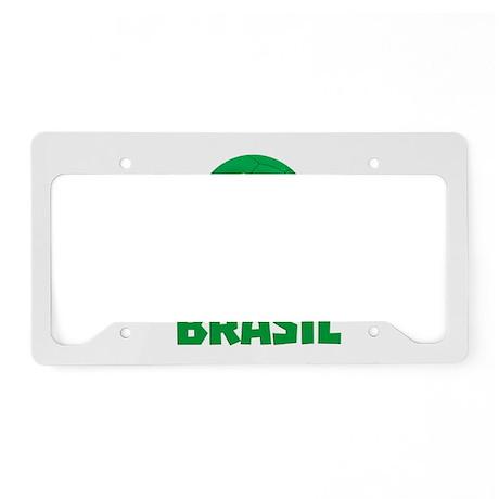 Brasil Futebol 2014 License Plate Holder