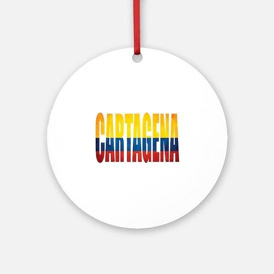 Cartagena Round Ornament