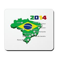 Brasil Futebol 2014 Mousepad