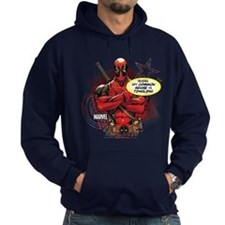 Deadpool My Common Sense Hoodie