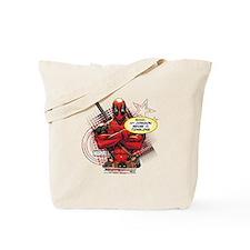 Deadpool My Common Sense Tote Bag