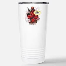 Deadpool My Common Sens Travel Mug