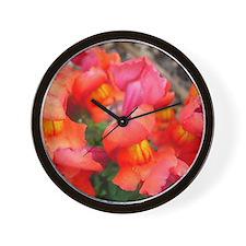 Snapdragon Sunset Wall Clock