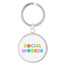 Social Worker 2014 Keychains
