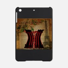 vintage corset floral paris fashion iPad Mini Case