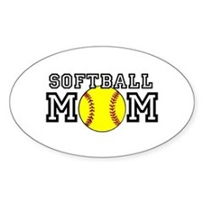 Softball Mom Decal