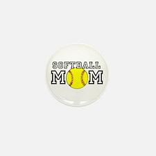 Softball Mom Mini Button (10 pack)