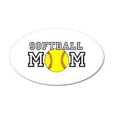 Softball Mom Wall Decal
