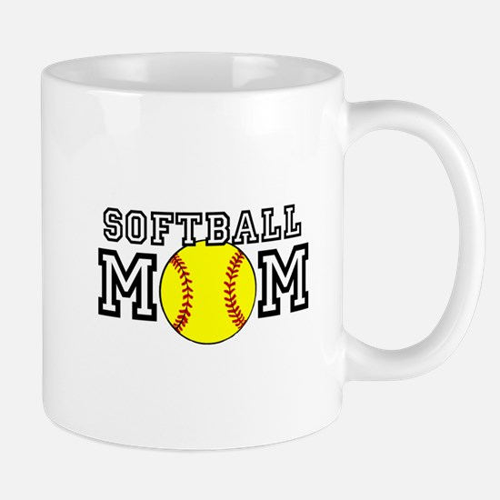 Softball Mom Mugs