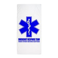 Emergency Response Team Beach Towel