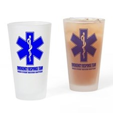 Emergency Response Team Drinking Glass