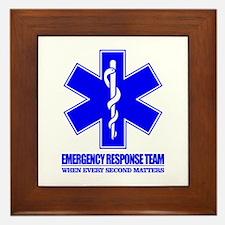 Emergency Response Team Framed Tile