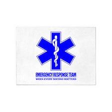 Emergency Response Team 5'x7'Area Rug
