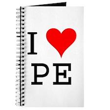 I Love PE Journal