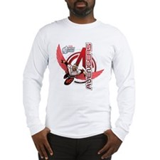 Falcon Red Long Sleeve T-Shirt