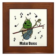 Makar Dance Framed Tile
