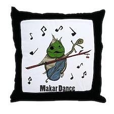 Makar Dance Throw Pillow