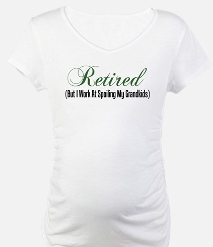 Retired Spoiling Grandkids Shirt