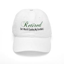 Retired Spoiling Grandkids Baseball Baseball Cap