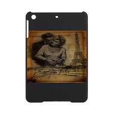paris eiffel tower lovers romantic iPad Mini Case