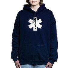 Ems Star Of Life Women's Hooded Sweatshirt