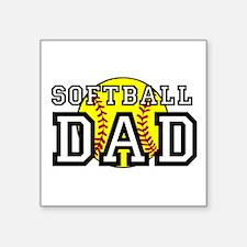 Softball Dad Sticker