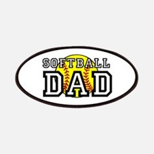 Softball Dad Patches