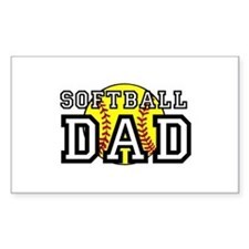Softball Dad Decal