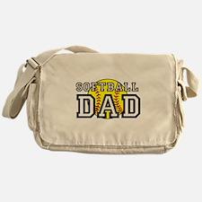 Softball Dad Messenger Bag