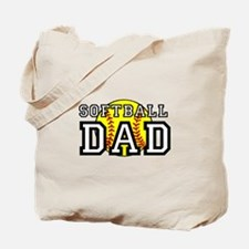 Softball Dad Tote Bag