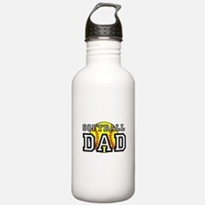 Softball Dad Water Bottle