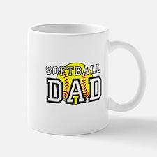 Softball Dad Mugs