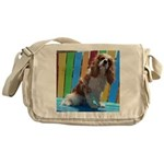 Lifes A Beach Messenger Bag