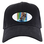 Lifes A Beach Baseball Hat Black Cap