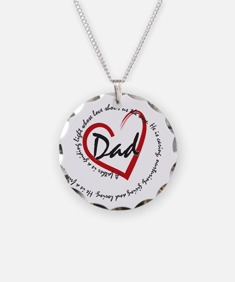 Fathers Day Dad Necklace