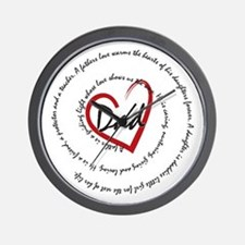 Fathers Day Dad Wall Clock