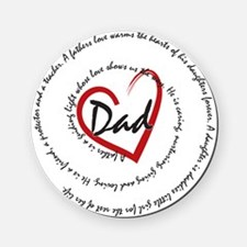 Fathers Day Dad Cork Coaster