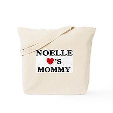 Noelle loves mommy Tote Bag