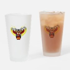 The Winged Avenger Falcon Drinking Glass