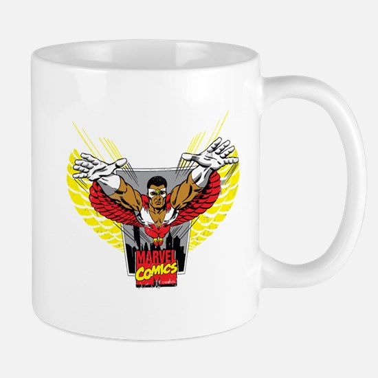 The Winged Avenger Falcon Mug