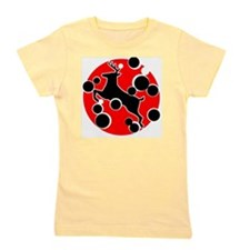 Jumping stag Girl's Tee