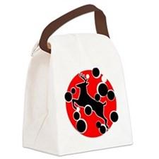 Jumping stag Canvas Lunch Bag