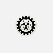 Cute Logo in white Mini Button