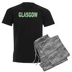 Glasgow Green and White Pajamas